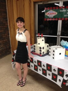 Las Vegas Themed 16th Birthday Party-1