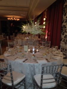 PZ table setting blurry